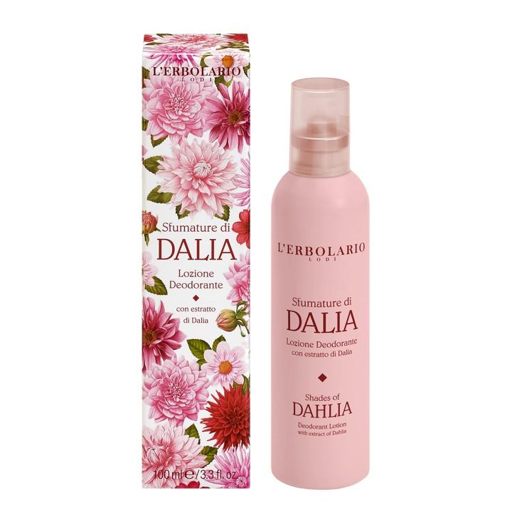 L'Erbolario Sfumature di Dalia dezodorant z atomizerem, 100 ml