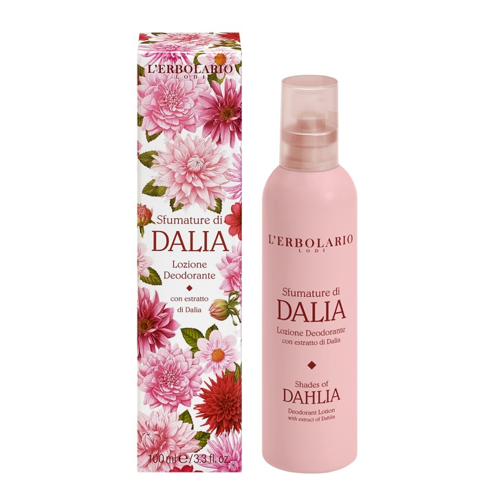Sfumature di Dalia dezodorant z atomizerem, 100 ml