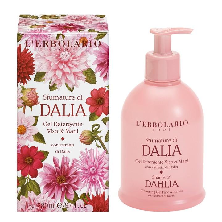 L'Erbolario Sfumature di Dalia żel do mycia twarzy i rąk, 280 ml
