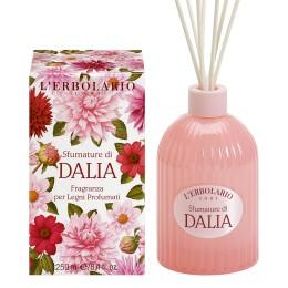 L'Erbolario Sfumature di Dalia perfumy do patyczków zapachowych (dyfuzor), 250 ml