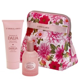 L'Erbolario Sfumature di Dalia Beauty Set woda perfumowana 50ml + pianka do kapieli 100ml