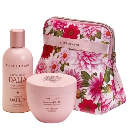 L'Erbolario Sfumature di Dalia Beauty Set perfumowany krem do ciała 300 ml + pianka do kąpieli 250 ml