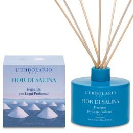 L'Erbolario Fior di Salina perfumy do patyczków zapachowych (dyfuzor), 200ml