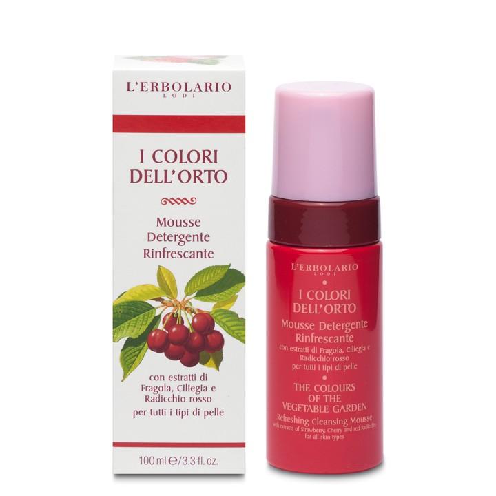 L'Erbolario I Colori dell'Orto Odświeżający mus do mycia twarzy, 100ml