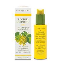 L'Erbolario I Colori dell'Orto Rewitalizujące mleczko oczyszczające, 100ml