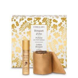 L'Erbolario Bouquet d'Oro Woda perfumowana 10 ml z wielofunkcyjną szarfą - edycja limitowana