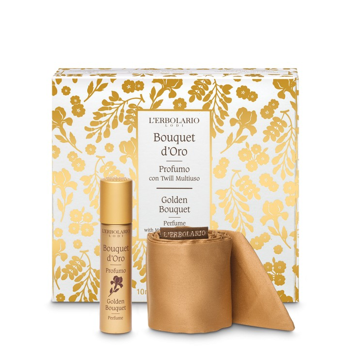 Bouquet d'Oro Woda perfumowana 10 ml z wielofunkcyjną szarfą - edycja limitowana