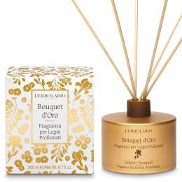 L'Erbolario Bouquet d'Oro Perfumy do patyczków zapachowych (dyfuzor), 200ml