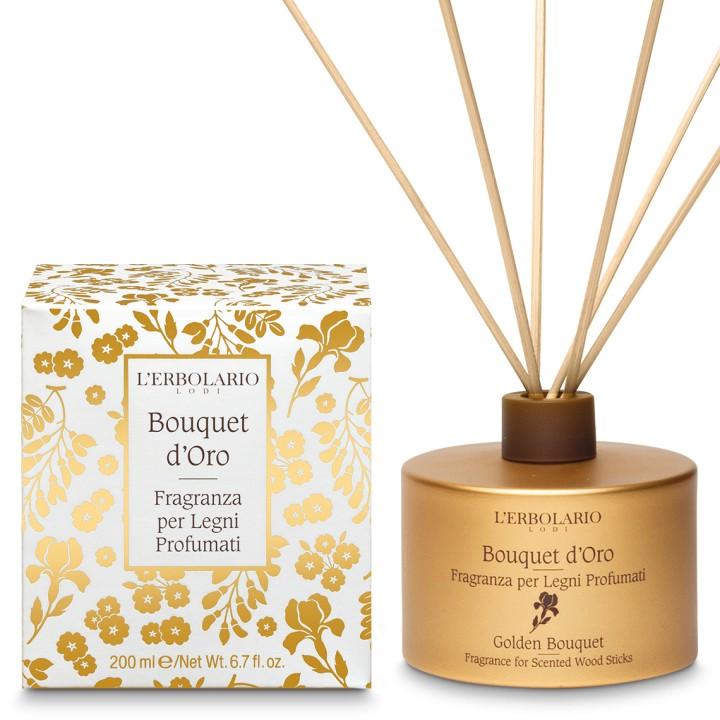 Bouquet d'Oro Perfumy do patyczków zapachowych (dyfuzor), 200ml