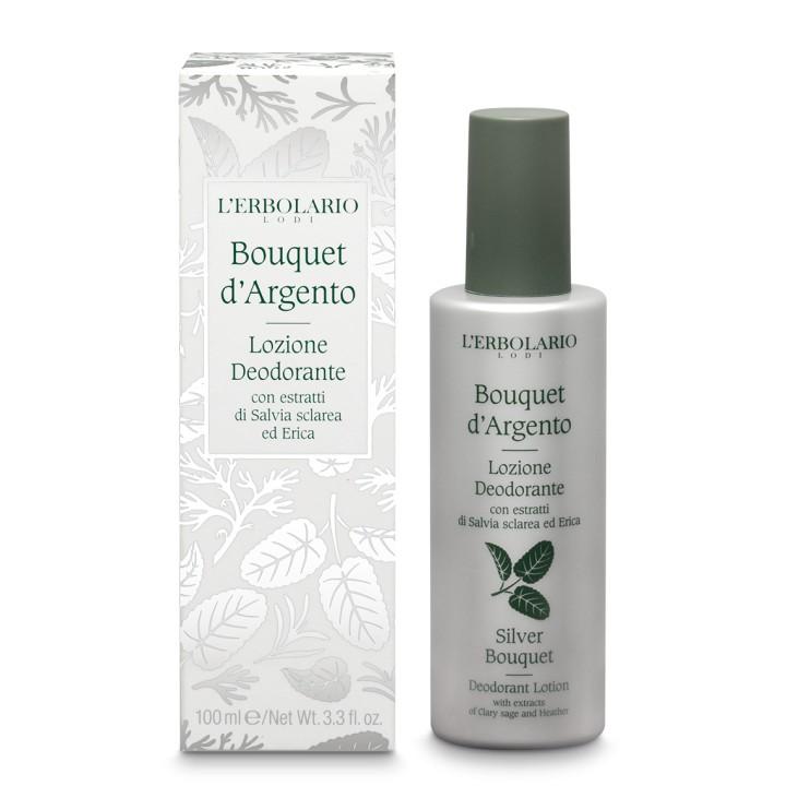 Bouquet d'Argento Dezodorant z atomizerem, 100ml