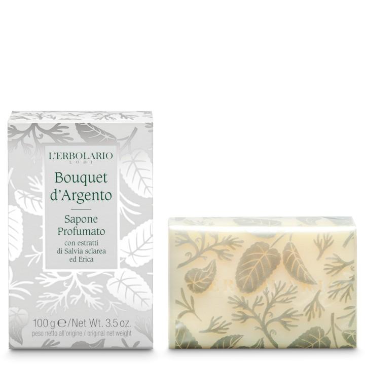 L'Erbolario Bouquet d'Argento Mydło perfumowane, 100g