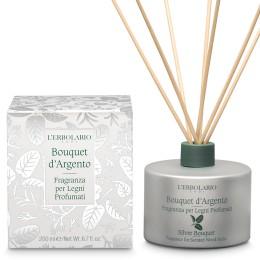 L'Erbolario Bouquet d'Argento Perfumy do patyczków zapachowych (dyfuzor), 200ml