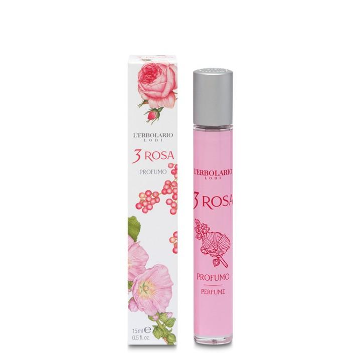 3 Rosa woda perfumowana, 15ml