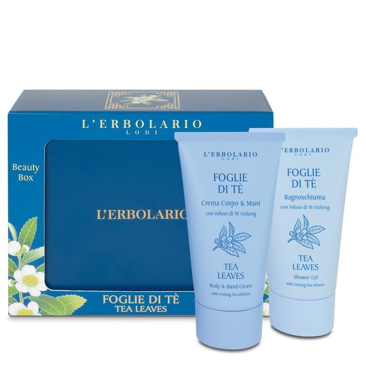 Foglie di Tè Zestaw kosmetyków w metalowym pudełku 2x75ml