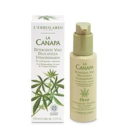 La Canapa niezwykle delikatny żel do mycia twarzy, 100 ml