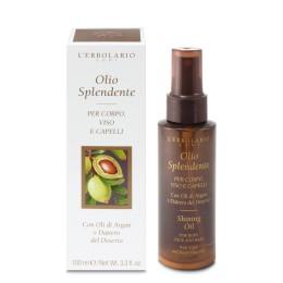 Rozświetlający olejek do ciała, twarzy i włosów, 100ml