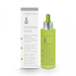 L'Erbolario Ananas Cell skoncentrowana emulsja do ciała 24h działanie antycellulitowe, 100 ml