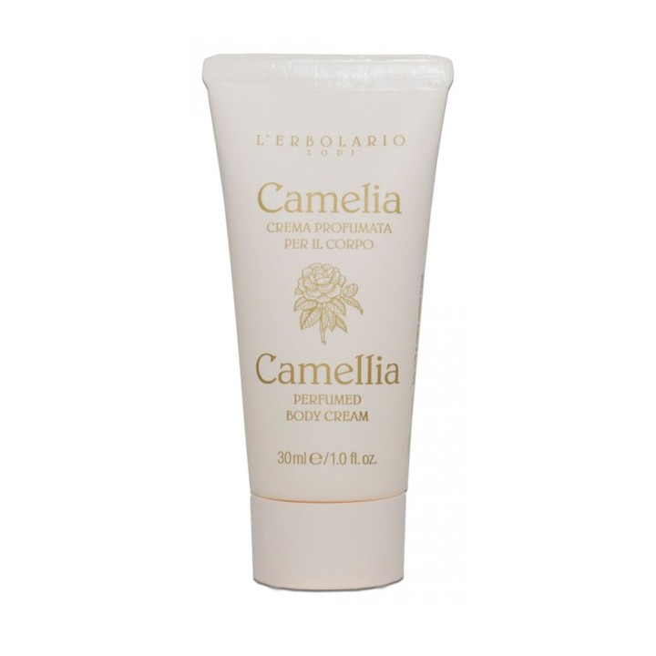 L'Erbolario Camelia perfumowany krem do ciała, 30ml