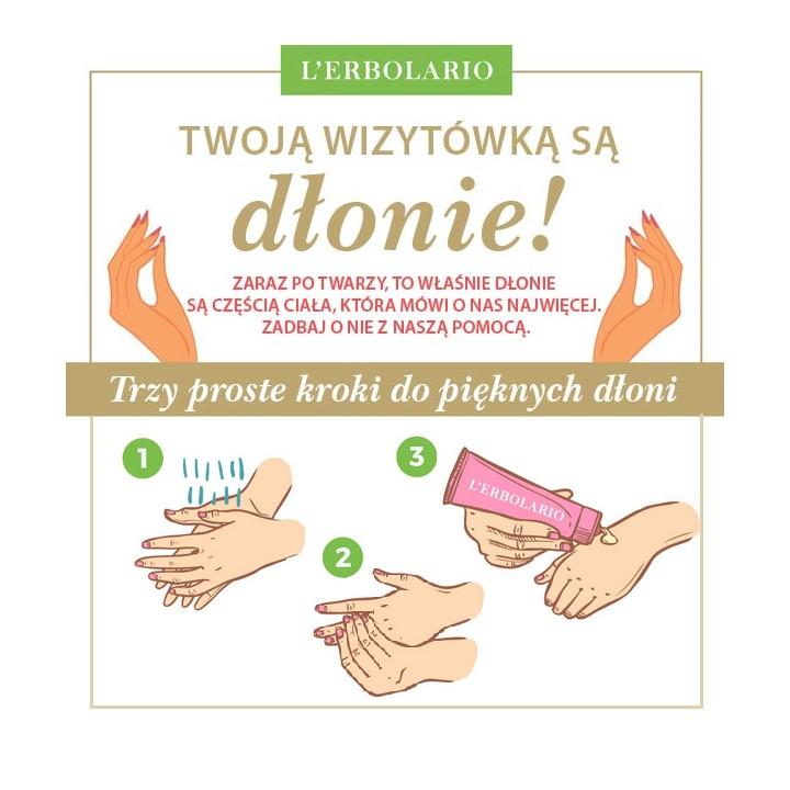 Rytuał pielęgnacyjny dłoni - Trzy proste kroki do pięknych dłoni • Oczyszczaj • Natłuszczaj • Złuszczaj