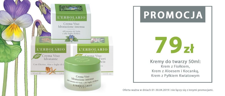 Wiosenne przebudzenie Twojej skóry! Roślinne kremy nawilżające w specjalnej cenie 79zł!