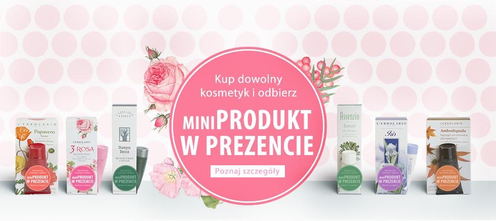 Mini produkt w PREZENCIE przy zakupie dowolnego produktu!