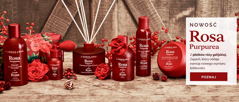 Poznaj nowy wymiar Kobiecości odtworzony w zapachu Rosa Purpurea!