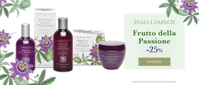 Pasja i zapach! Skorzystaj z rabatu 25% na linię Passiflora!
