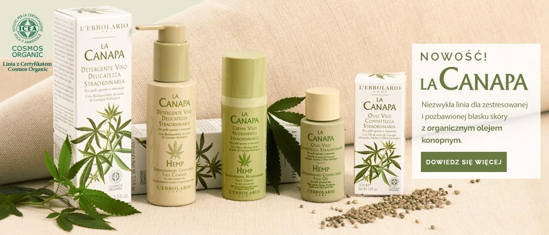 Organiczny olej konopny w NOWEJ, znakomitej linii do pielęgnacji twarzy - La Canapa. Odkryj wszystkie jej zalety!