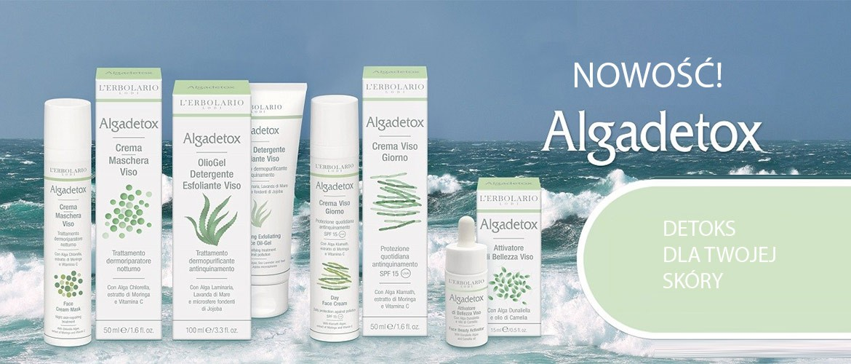 Detox skóry z linią Algadetox! Odkryj zbawienne właściwości alg w nowej linii L'Erbolario