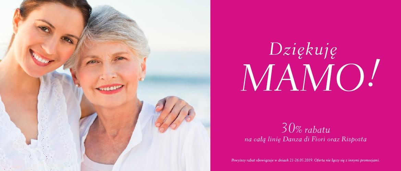 Dziękuję Mamo! Świętujemy Dzień naszych Mam rabatem 30% na linie Danza di Fiori i Risposta!