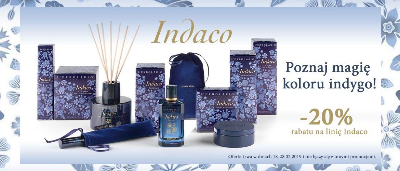 Odkryj magię koloru Indygo! Tylko do 28 lutego linia Indaco z rabatem 20%